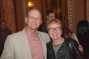 Kurt Johnson and Joliet Police Dept. social worker Mardi Wunderlich